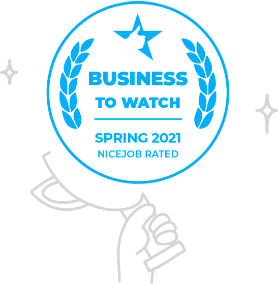 NiceJob's Business-to-watch Award.