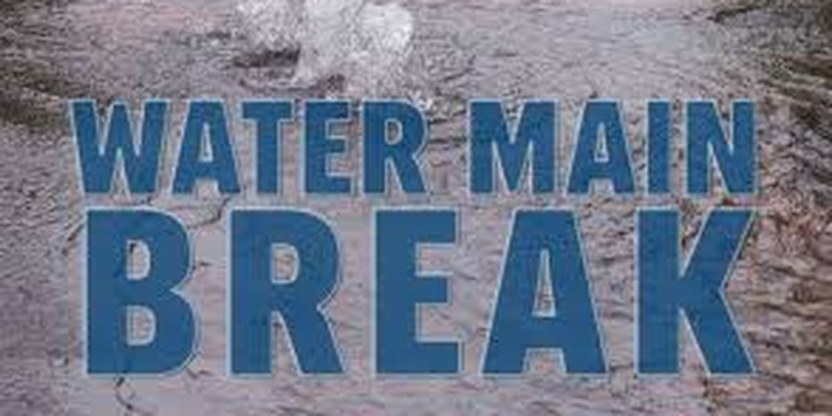 News: Downtown Water Main Break