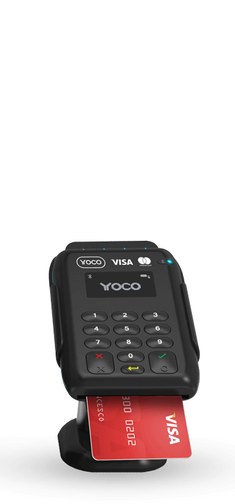 Credit Card Reader by Yoco