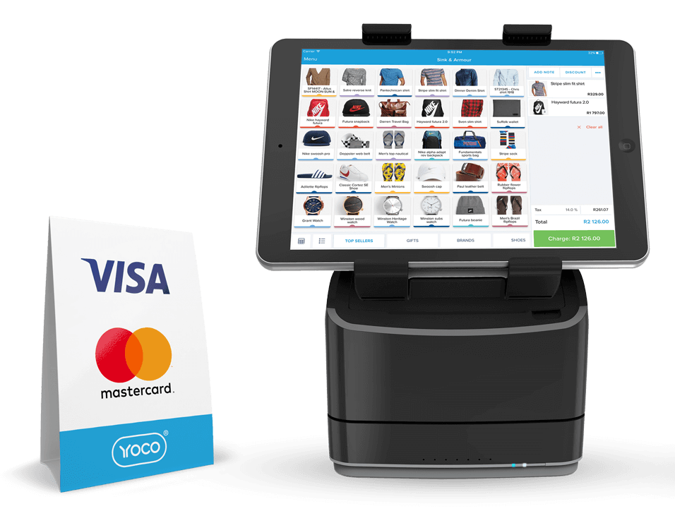 Point of Sale for Businesses accepting Credit Cards