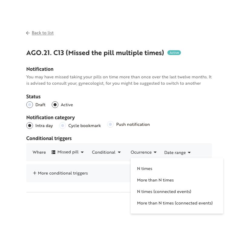 MonthlyCalendar Web App 2x4
