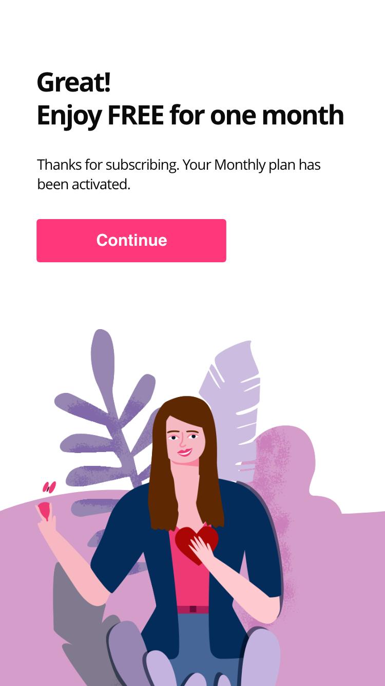 Monthly iOS Calendar 2x4