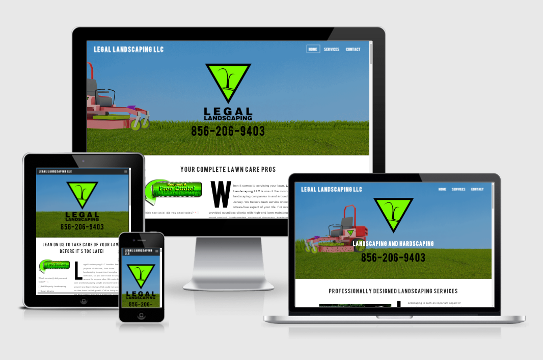 Legal Landscaping Website
