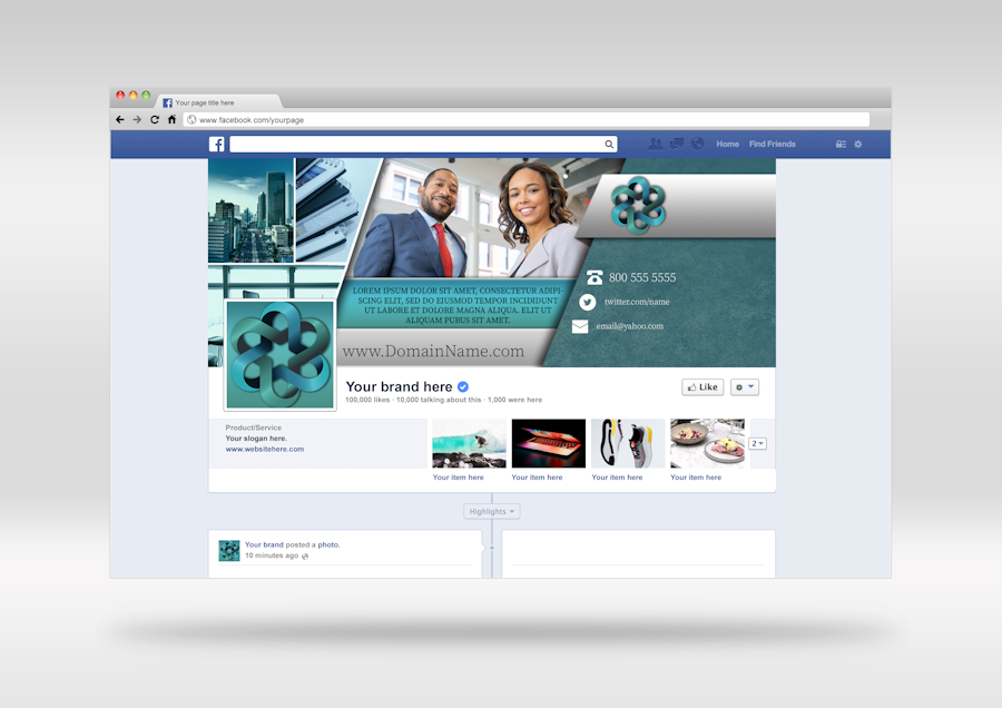 Business Facebook Cover 1