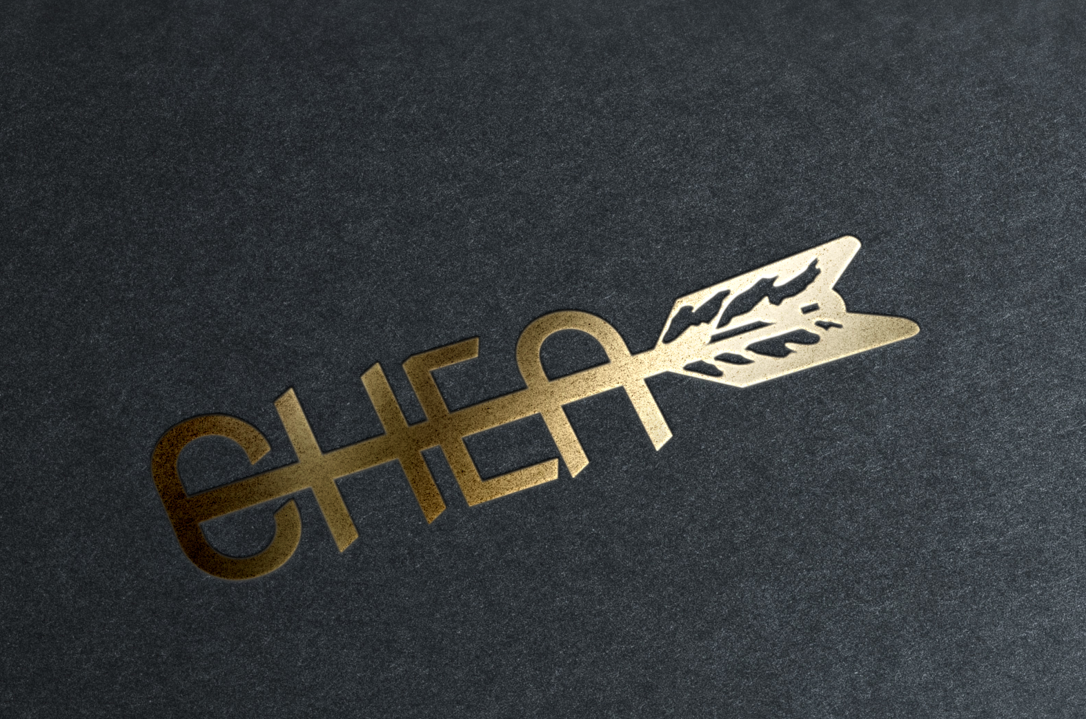 Gold Stamped Logo CHEA
