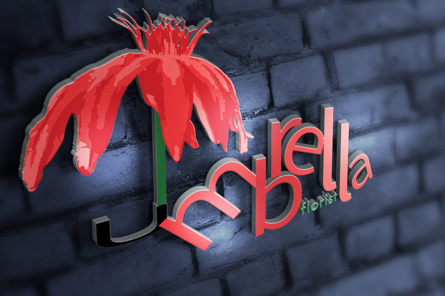 Umbrella Florist Logo