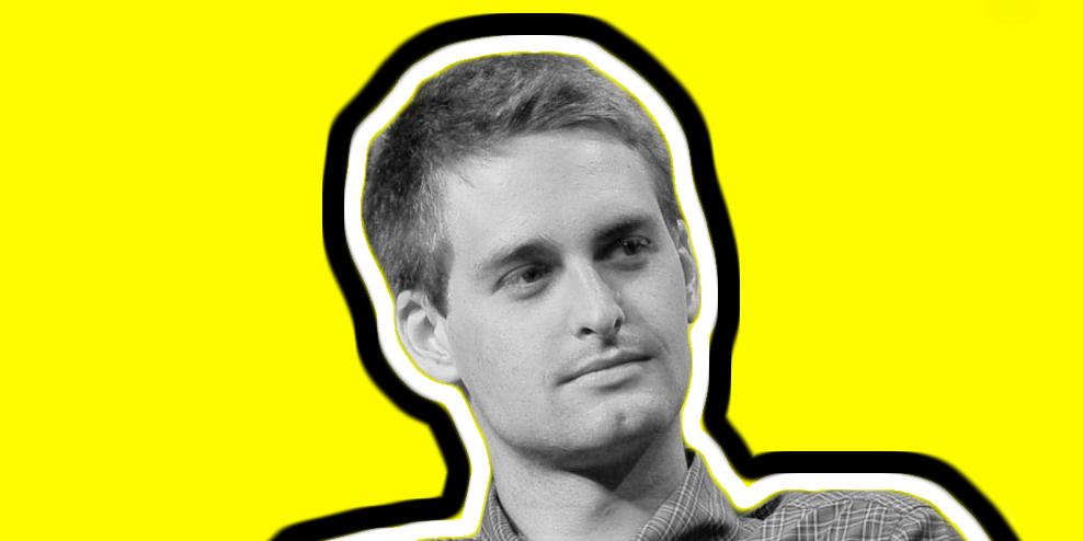 CEO do Snapchat perde metade da sua fortuna em menos de um mês