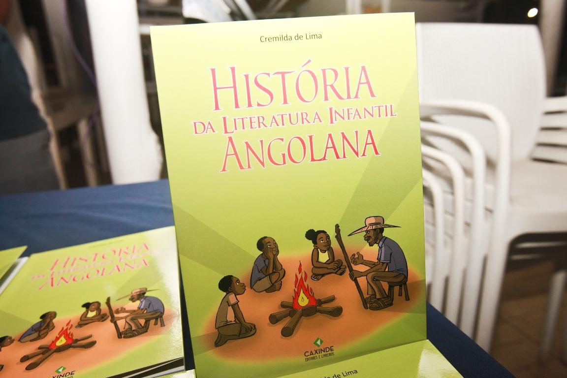 """Cremilda de Lima lança """"História da Literatura Infantil Angolana"""""""