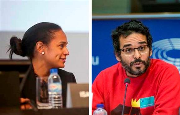 Isabel dos Santos e Luaty Beirão discutem no Twitter