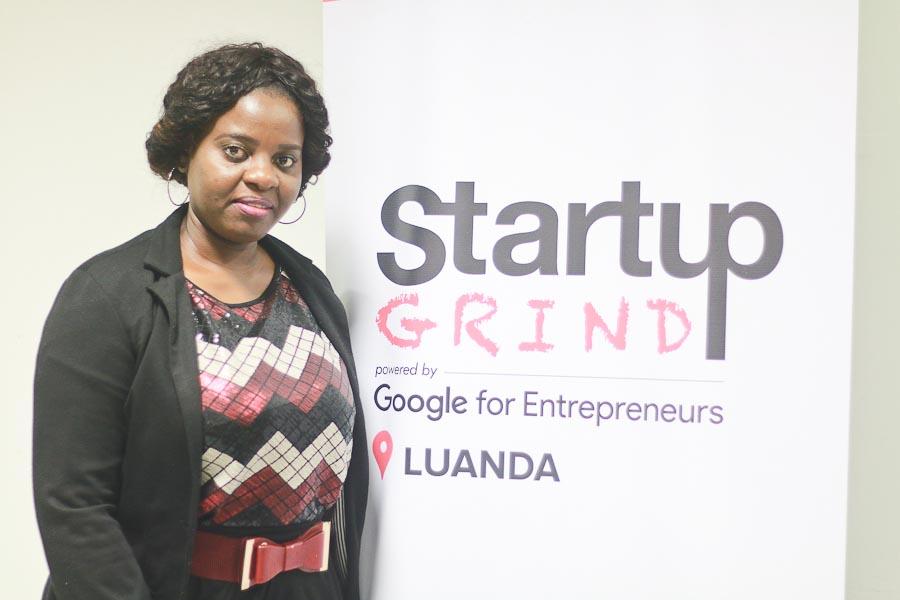 Startup Grind Luanda. Engenheira ambiental defende pesquisa e tratamento dos solos para relançar a agricultura nacional