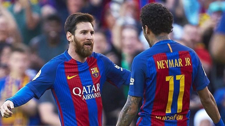 Messi reage à saída de Neymar do Barcelona e deseja-lhe boa sorte