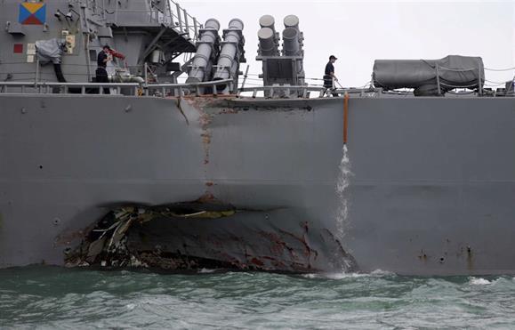 Singapura. colisão no mar faz pelo menos 5 feridos e 10 desaparecidos