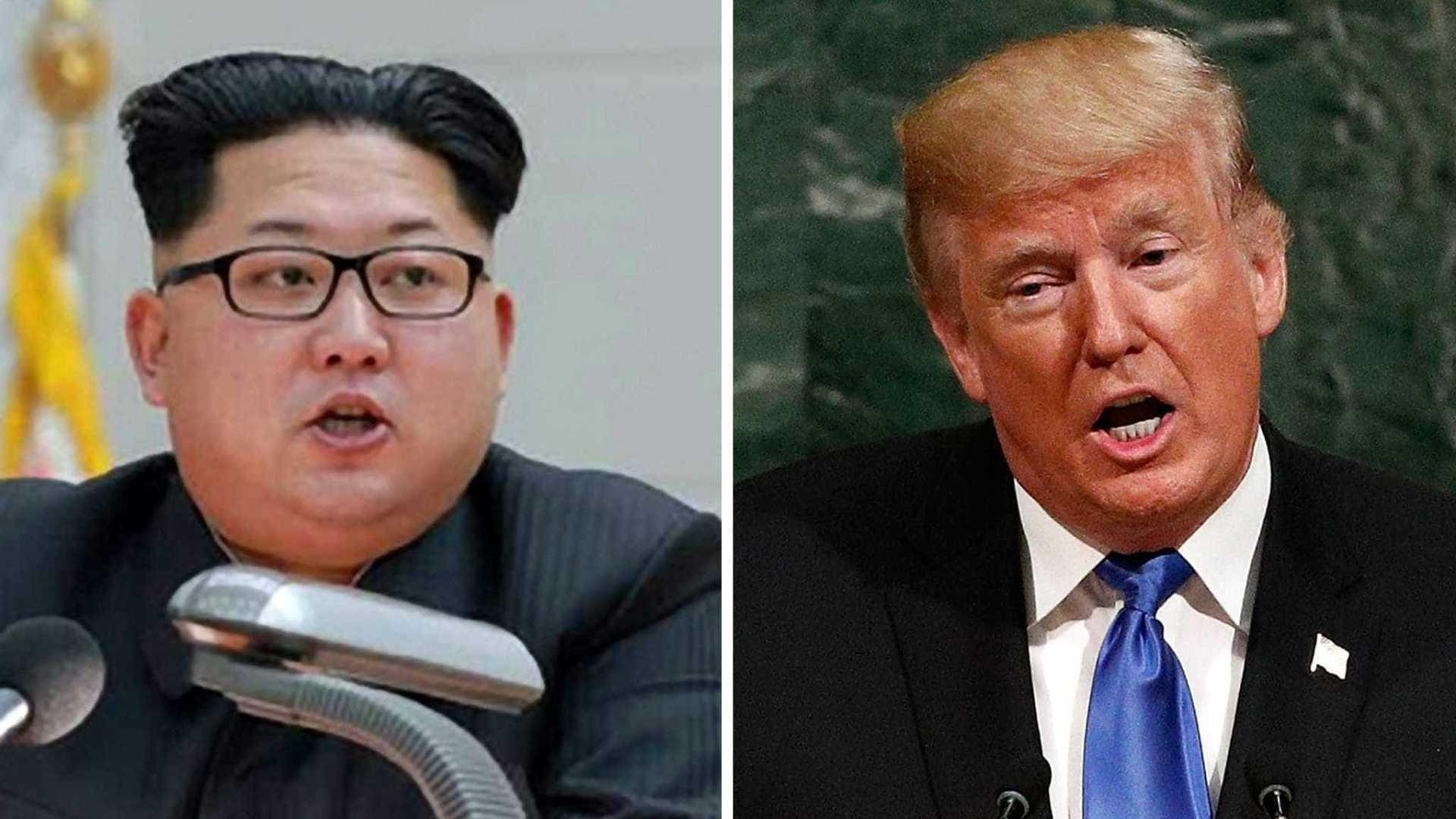 """EUA: Donald Trump contra-ataca e chama """"louco"""" ao líder norte-coreano Kim Jong-un"""