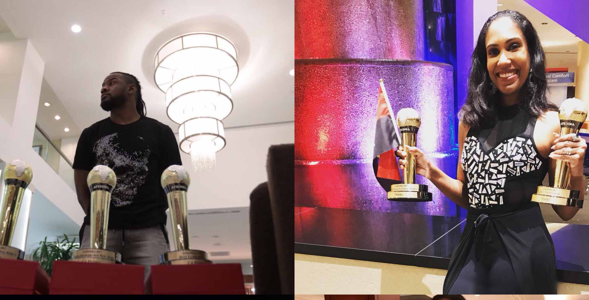 C4 Pedro e Nsoki galardoados como os melhores artistas da África Central