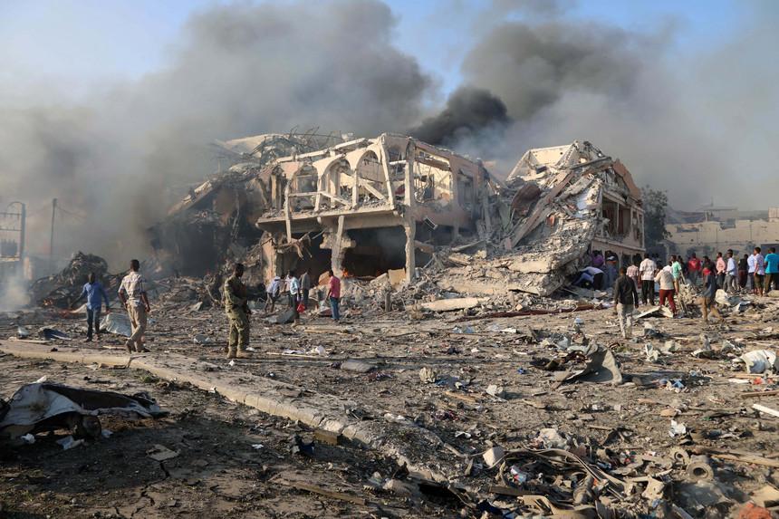 Somália: Número de mortos em atentado  já ultrapassou os 300
