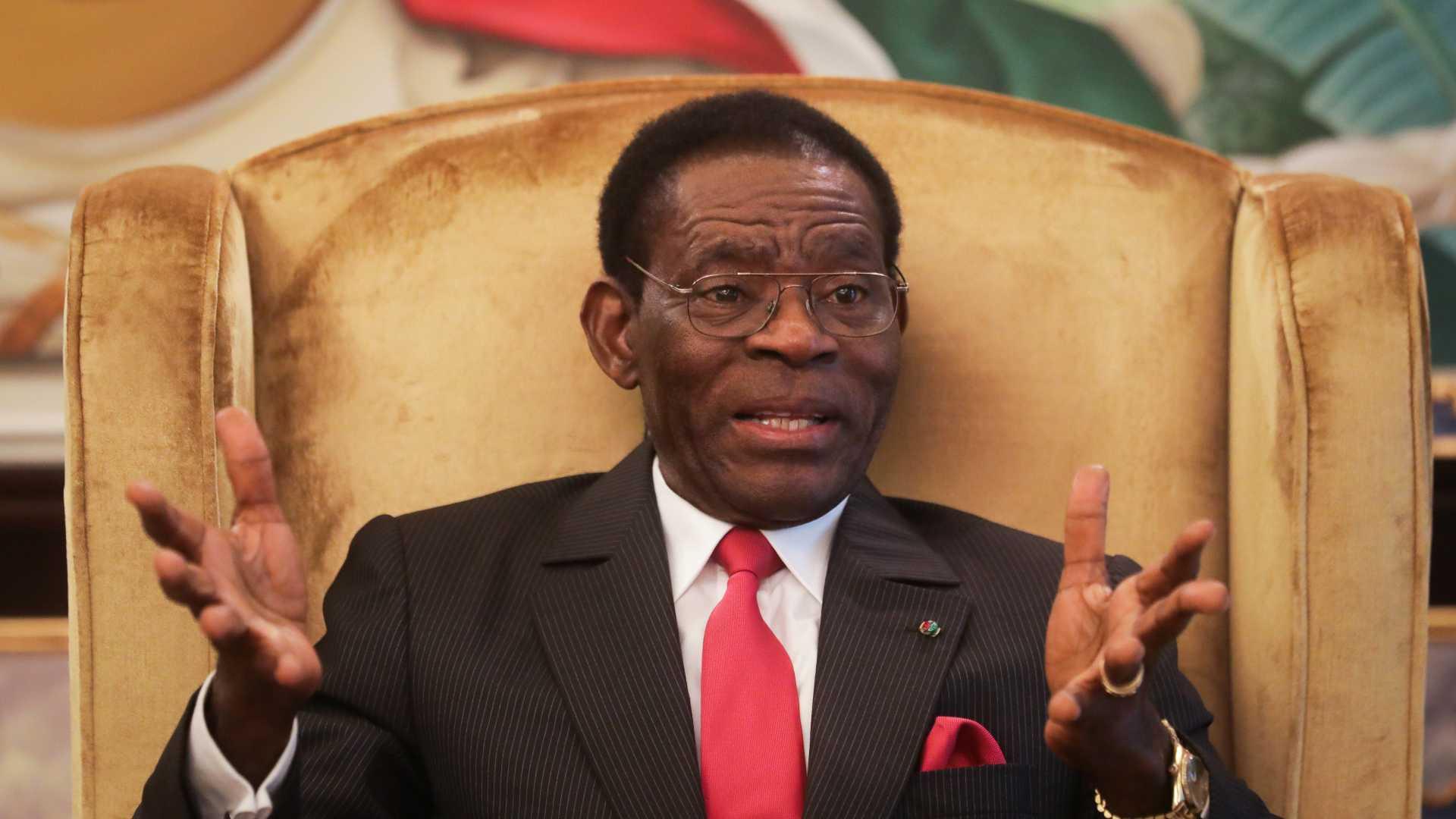 """Guiné Equatorial: Obiang considera-se """"democrata"""" e quer opositores """"violentos"""" punidos"""