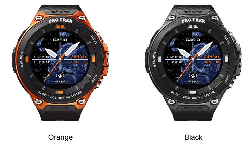Novo relógio Casio conta com GPS e painel solar