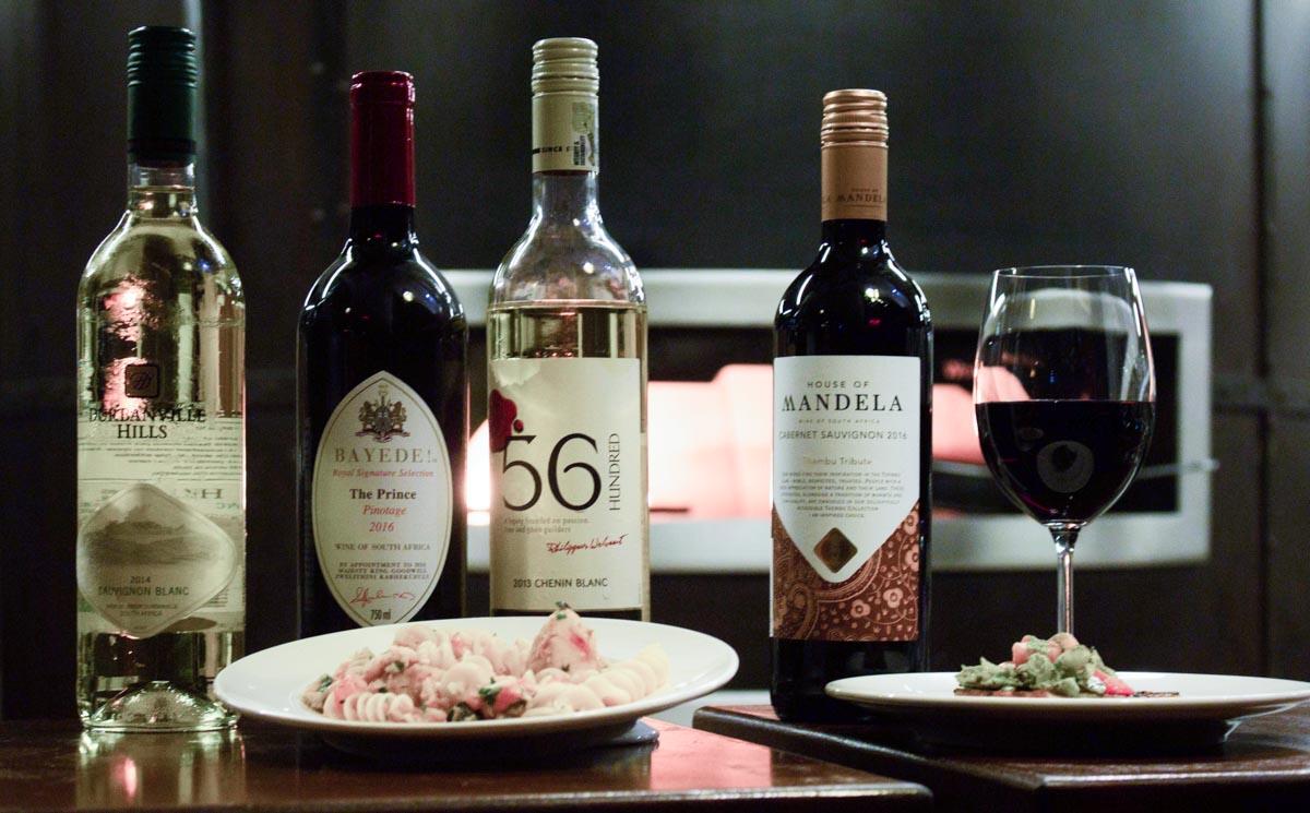 Vinhos sul-africanos deslumbram provadores angolanos