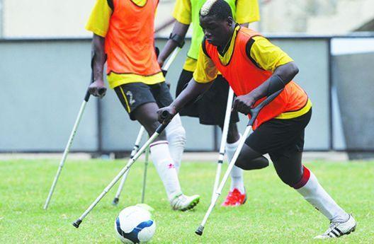 Futebol para amputados: Selecção Nacional trabalha físico para o Mundial