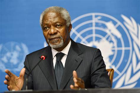 UNITA engrandece contributo de Kofi Annan na procura de diálogo entre angolanos