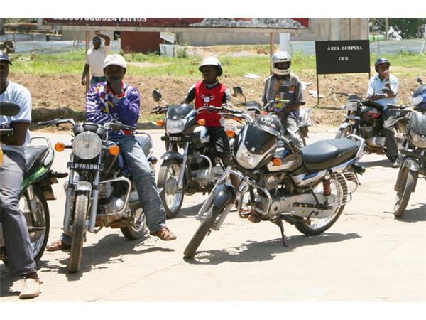 Polícia Nacional em Malanje pretende suspender serviço de mototáxi