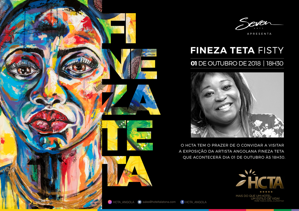Fineza Teta apresenta obras no HCTA