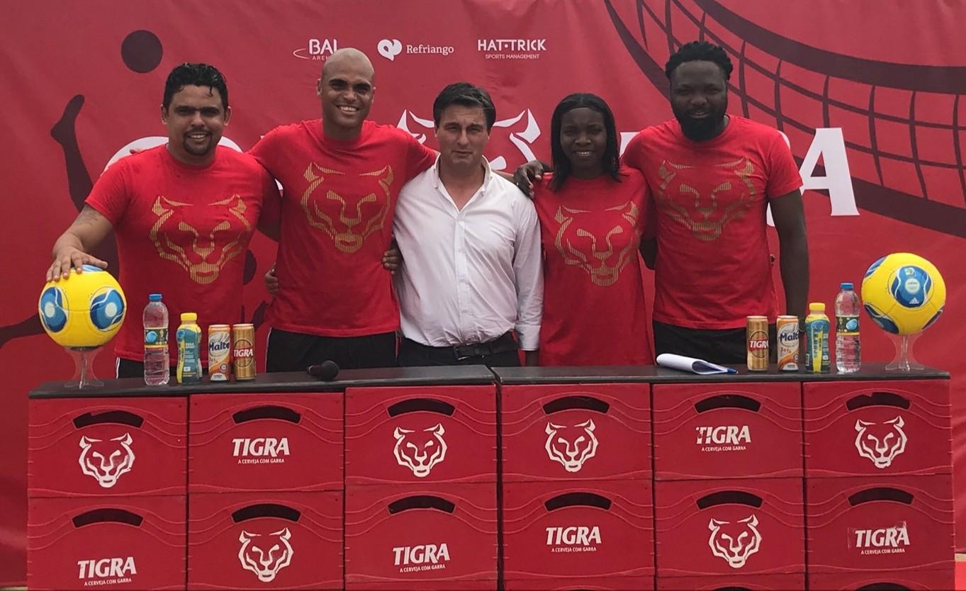 Copa Tigra Futevolei reúne estrelas do futebol nacional