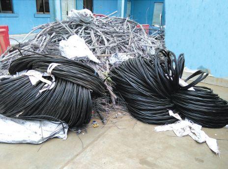 Cidadão da RCA detido por tráfico de cabos eléctricos