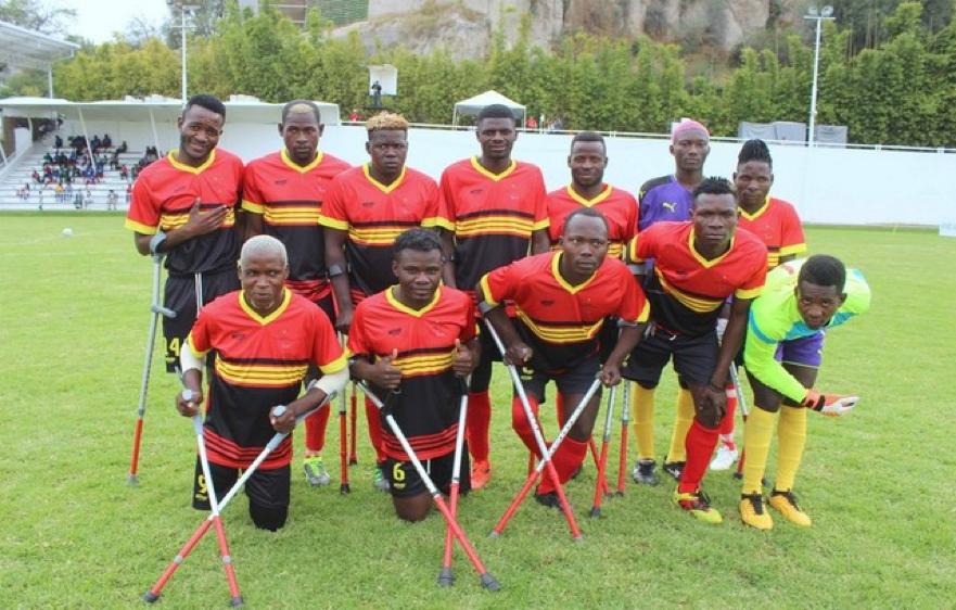 Angola é campeã do mundo de futebol adaptado