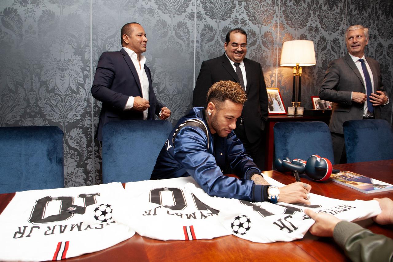 Neymar é o novo embaixador Global do grupo Qatar National Bank