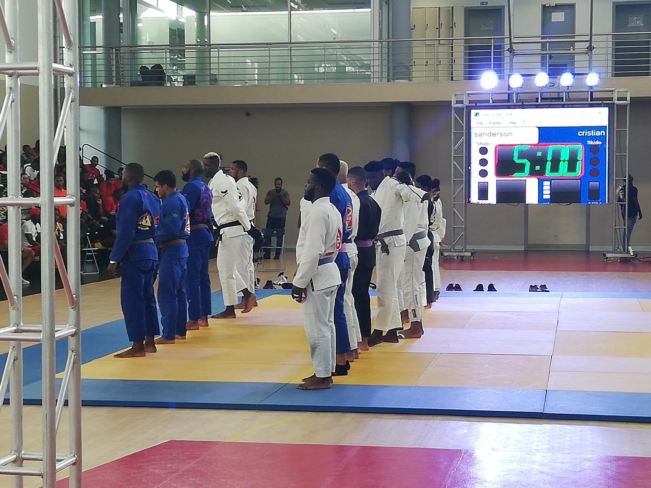 Duelo de Titãs junta atletas de artes marciais