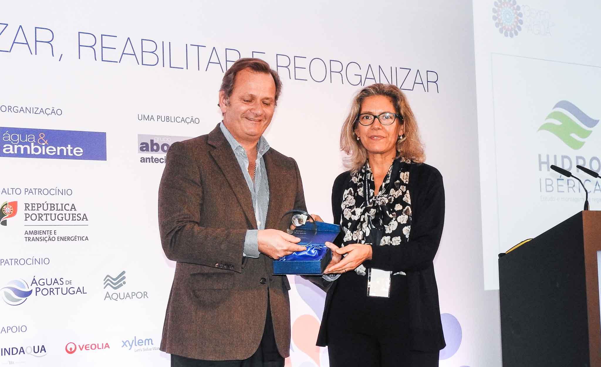 Hidro-Ibérica participa na 2ª edição dos PT Water Global Awards e recebe Menção Honrosa