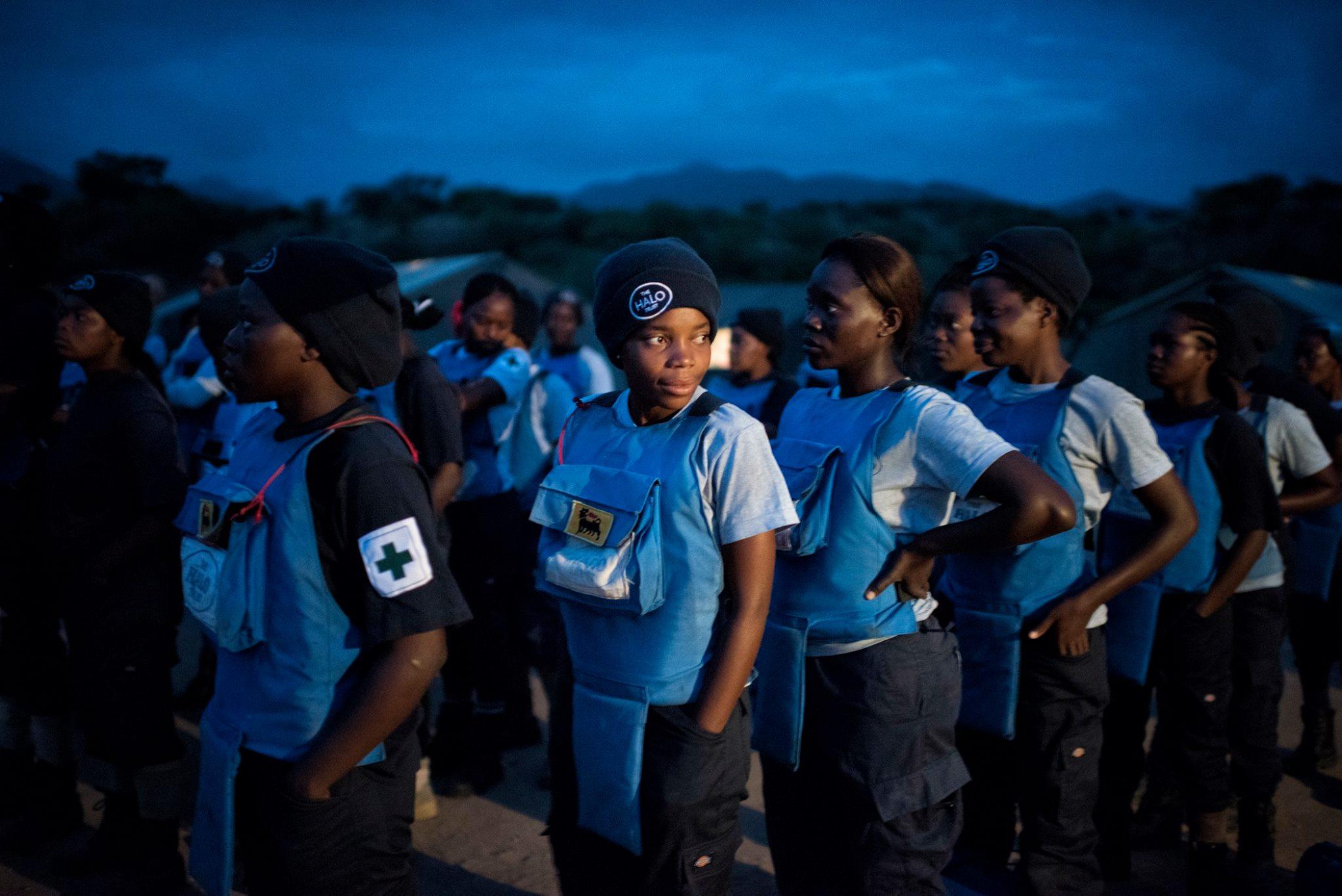 Equipa feminina desmina área de mais 45.000 m2 em Benguela