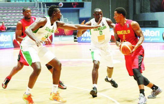 Angola entre os competidores da Liga Africana de Basquetebol