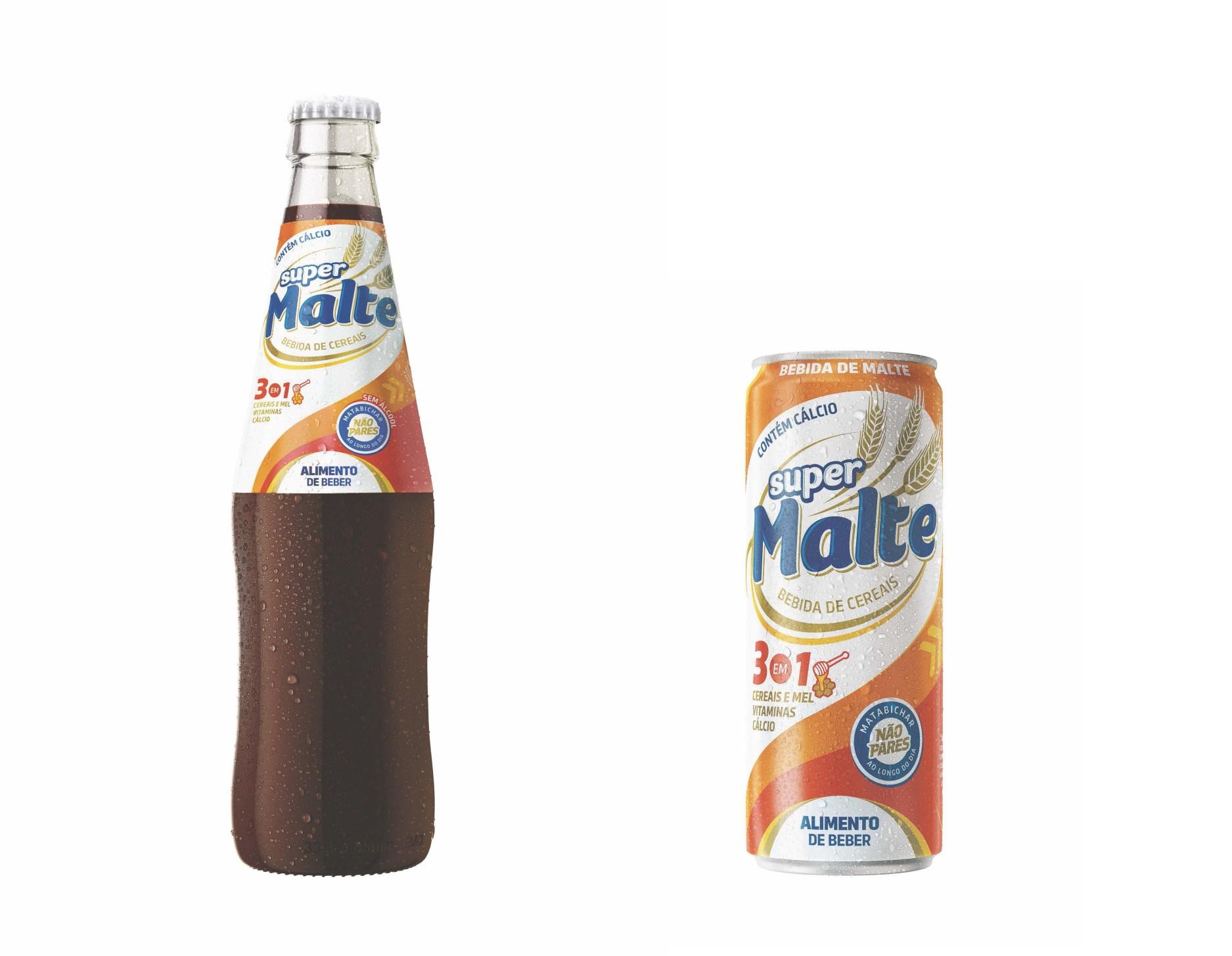 Benefícios e vantagens da bebida Super Malte apresentados em formação sobre o produto