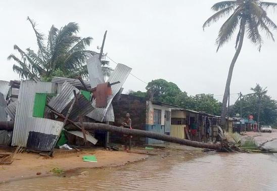 Moçambique: Estima-se mais de mil mortes devido do ciclone