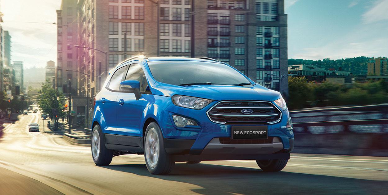 EcoSport SUV com qualidade de tecnologia reforçada e maior conforto