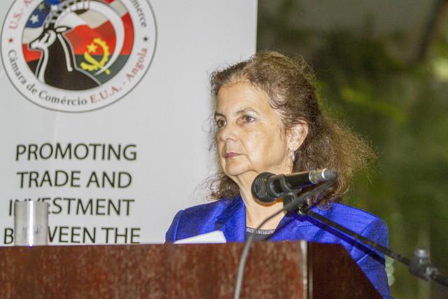 Nina Maria Fite efectua visita de trabalho ao sul de Angola
