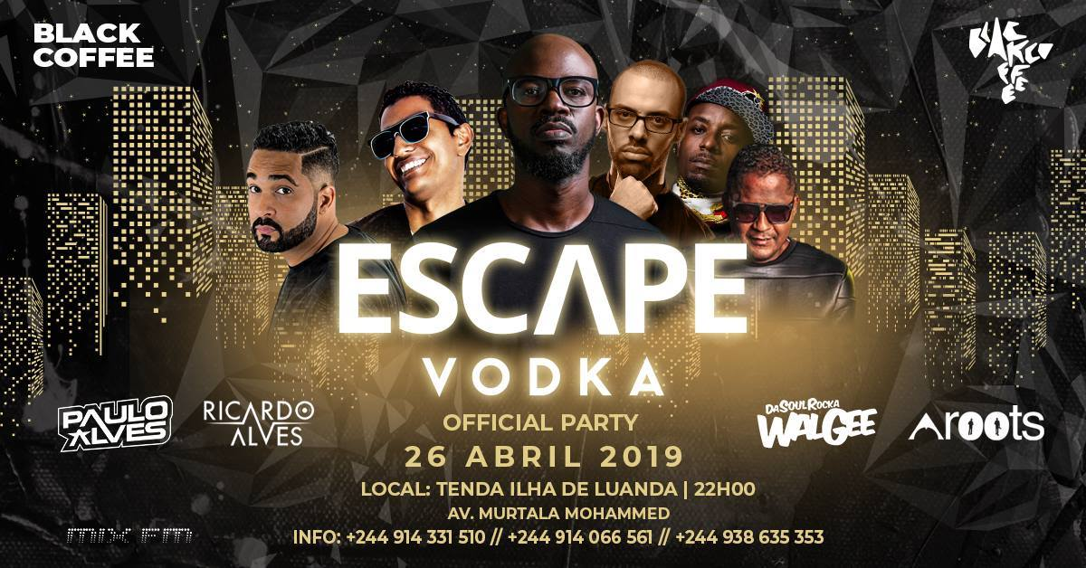 "Black Coffee anima ""Escape Vodka"""