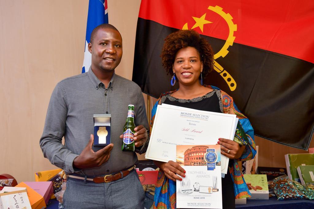 Luandina arrecada sua primeira medalha 'Monde Selection'