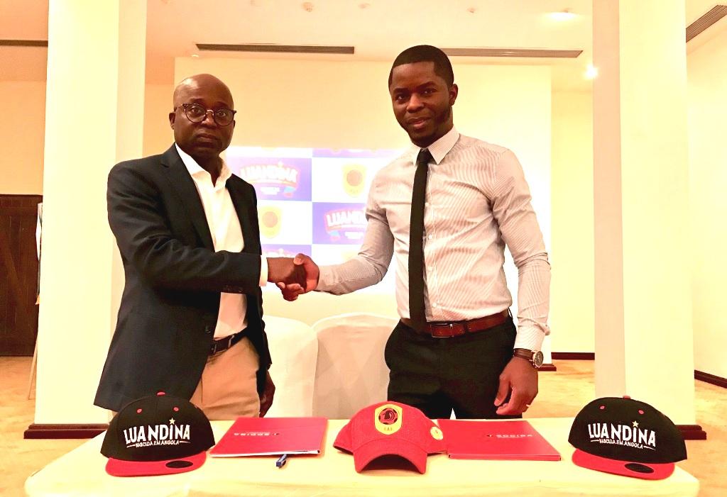 Luandina é a patrocinadora oficial da Selecção Angolana de Futebol