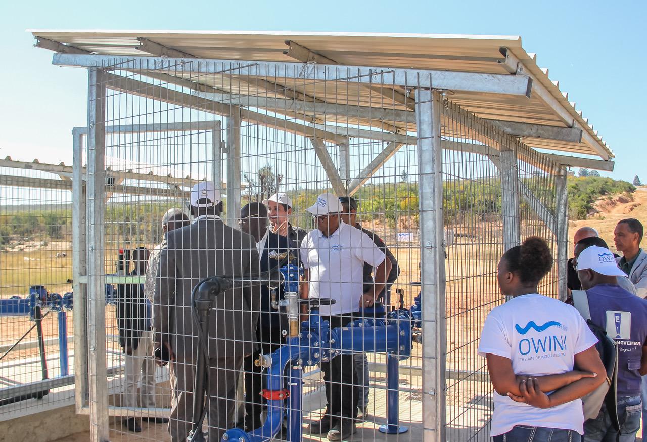 Água potável chega a 42 milhões de habitantes no Cuito Cuanavale