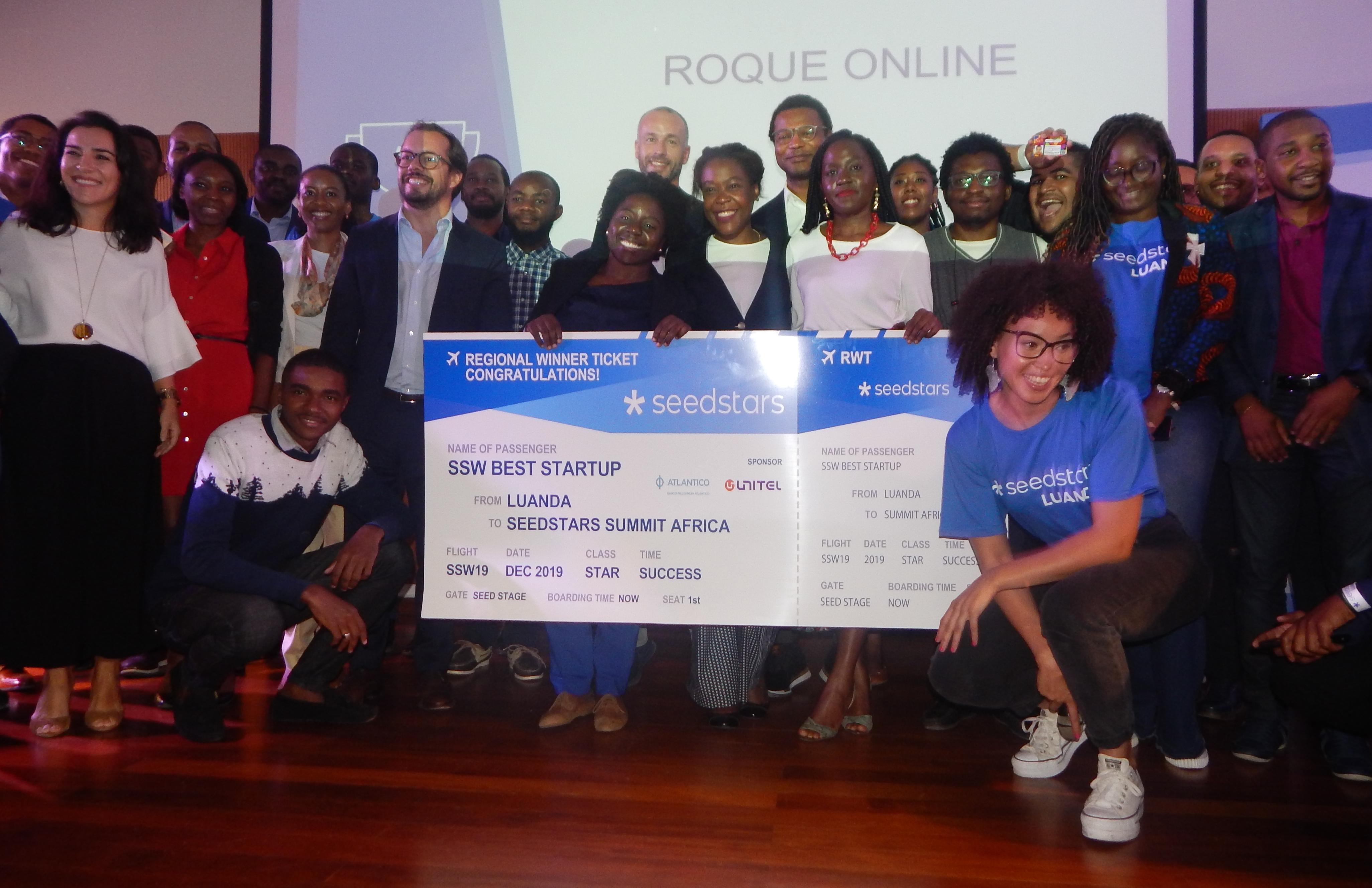 Roque Online vence 5ª edição do Seedstars Luanda