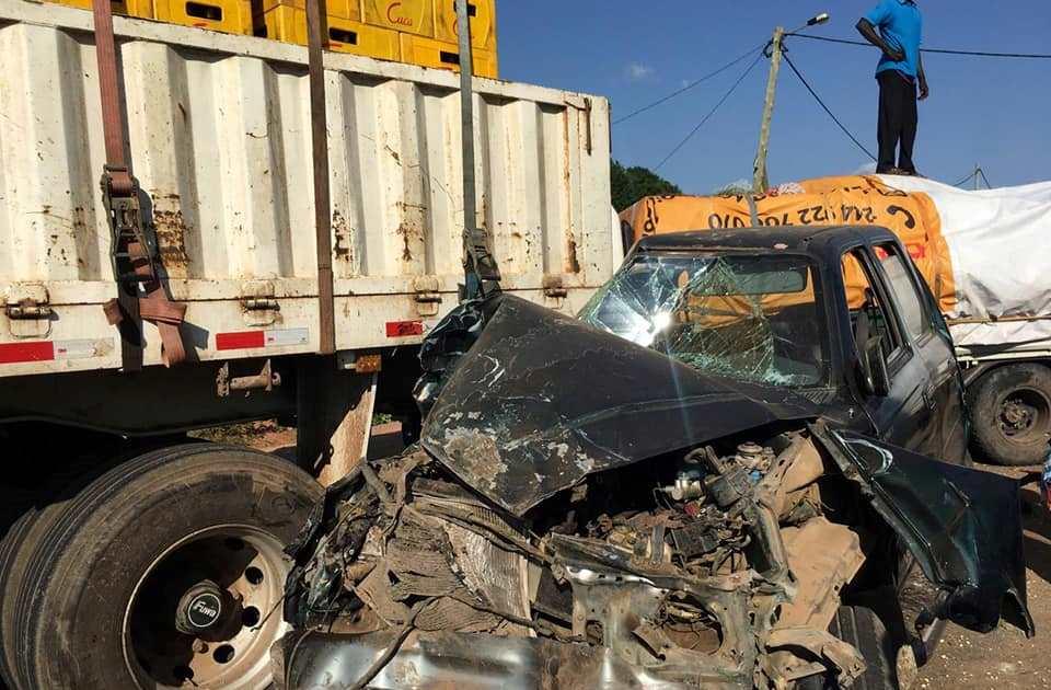 Acidente na Estrada Nacional 230 faz dois mortos e quatro feridos