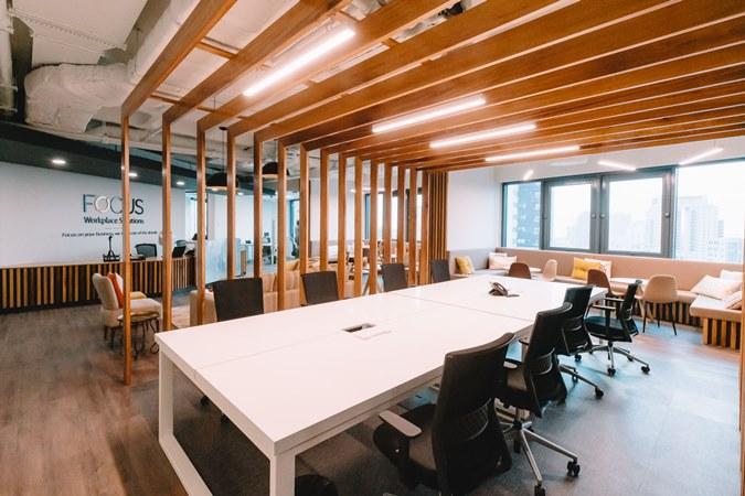 FOCUS – Workplace, uma solução de escritórios flexíveis no centro de Luanda
