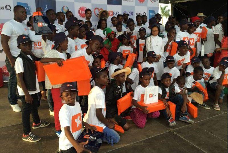 2ª edição do Programa BFA Solidário conta com um investimento de 250 milhões de kwanzas