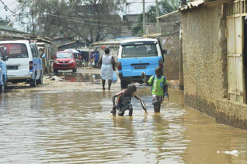 Avizinha-se chuva em todo o país, segundo previsões do INAMET