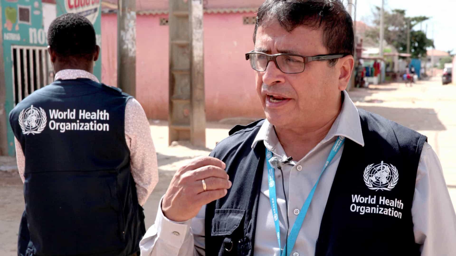 OMS apoia grupo de especialistas no interior de Angola