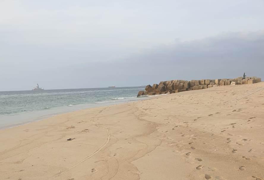 Ilha de Luanda regista potencial descarga de material contaminado