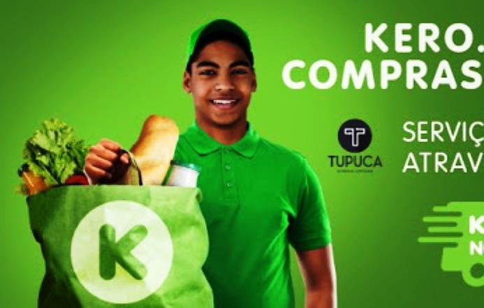 Kero junta-se à Tupuca e apresenta novo serviço de entregas ao domicílio